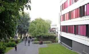 Images du campus Villejean de l'université Rennes-II, le 17 mai 2018.
