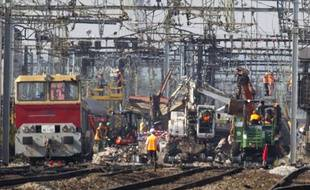 Après l'incident ferroviaire de Brétigny, survenu le 12 juillet 2013.