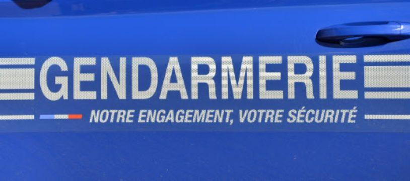 Une voiture de gendarmerie. (illustration)