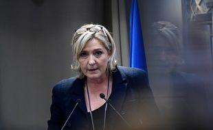 Marine Le Pen le 9 décembre 2016 à Paris.AFP PHOTO / MARTIN BUREAU
