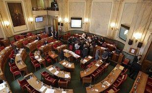 L'hémicycle du conseil départemental du Nord.