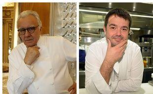 Alain Ducasse et Jean-François Piège.