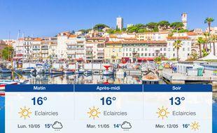 Météo Cannes: Prévisions du dimanche 9 mai 2021