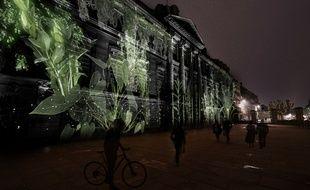 Un« video mapping contemplatif» sera projeté sur la façade du Palais Rohan
