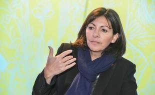 La maire de Paris Anne Hidalgo ale 29 janvier 2015 à Bordeaux.