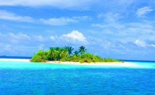 Les îles des  Maldives, dans l'Océan Indien, pourraient disparaître à cause de la montée des eaux