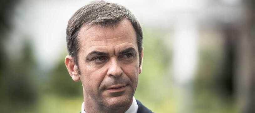 Olivier Véran, ministre de la Santé, fin juillet 2021 à Paris (illustration).