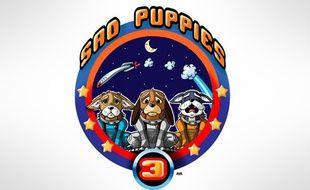 Le logo du groupe des Sad Puppies
