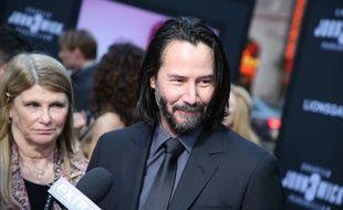 L'acteur Keanu Reeves à l'avant-première de «John Wick: Chapitre 3», à Los Angeles