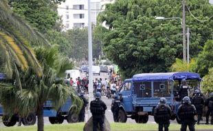 La contestation sociale a pris beaucoup plus d'ampleur à La Réunion qu'ailleurs en outre-mer.