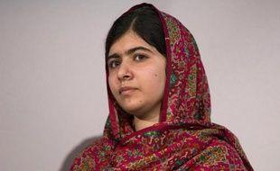 "La Pakistanaise Malala Yousafzai lors de la conférence internationale ""Girl Summit"", le 22 juillet 2014 à Londres"