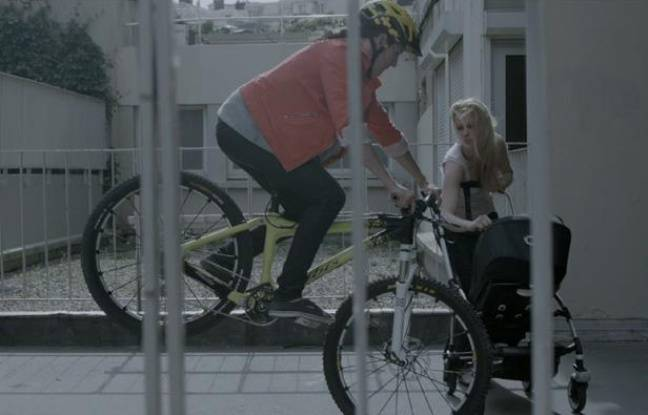 Capture d'écran de la campagne «Vélo en ville» de la Prévention routière