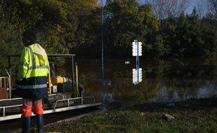 Des inondations en France, illustration