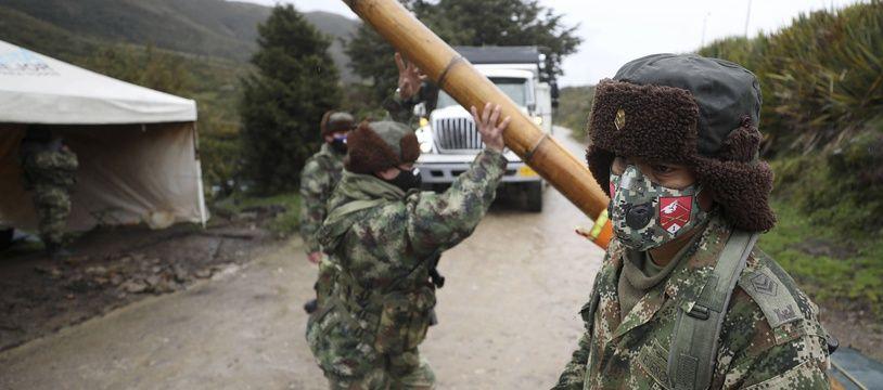 Des militaires colombiens le 30 juillet 2020 (illustration).