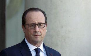François Hollande le 31 octobre 2014 à l'Elysée à Paris
