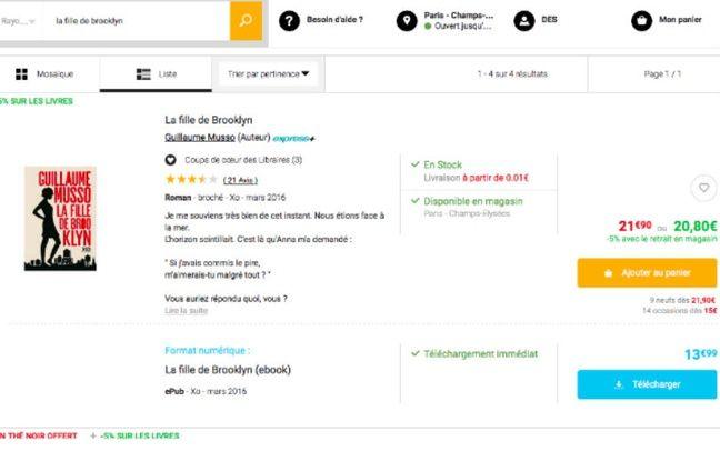 Papier ou numérique: en France, le prix du livre reste fixé par les éditeurs et unique chez les distributeurs.