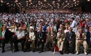 Le rassemblement annuel des Moudjahidines du peuple iranien à Villepinte.