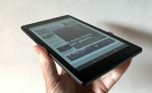 La nouvelle tablette Fire HD 8 d'Amazon est disponible en 16 Go ou 32 Go.