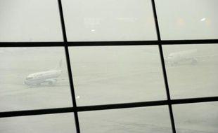 """Des centaines de vols ont été annulés en 24 heures à Pékin, officiellement en raison du """"brouillard"""", tandis que le niveau de pollution atmosphérique était qualifié de """"dangereux"""" par l'ambassade des Etats-Unis."""