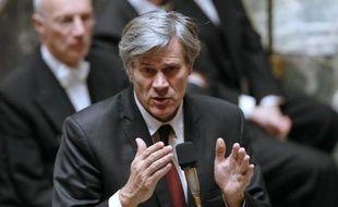 Le ministre de l'Agriculture et porte-parole du gouvernement Stéphane Le Foll à l'Assemblée nationale le 10 décembre 2014