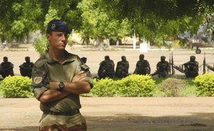 Camp militaire de Koulikoro, au Mali, le lundi 26 septembre 2013. C'est ici que se déroule la mission EUTM-Mali de formation des soldats maliens