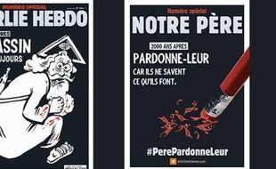 Des protestants évangéliques ont décidé de répondre par la parodie à la caricature parue mercredi à la une de Charlie Hebdo