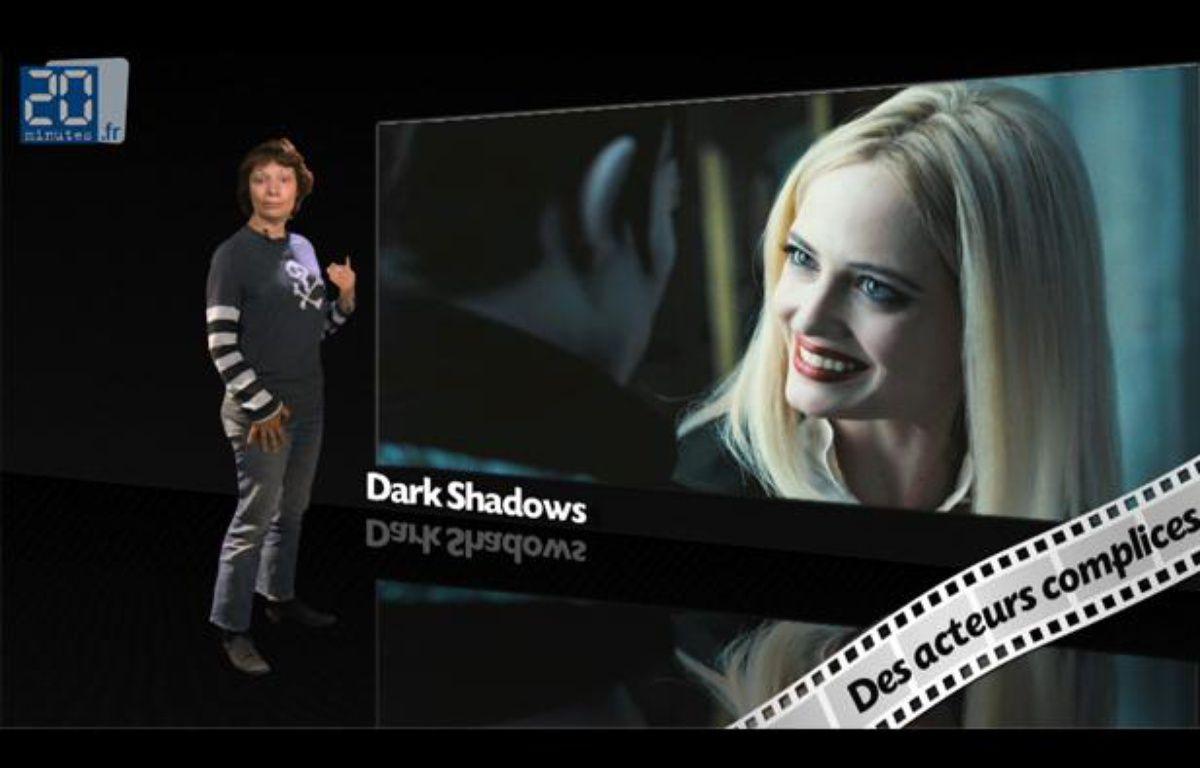 Caroline Vié, critique cinéma de «20Minutes», décrypte le film «Dark Shadows» dans son émission, Ciné Vié. – 20 Minutes