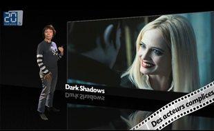 Caroline Vié, critique cinéma de «20Minutes», décrypte le film «Dark Shadows» dans son émission, Ciné Vié.