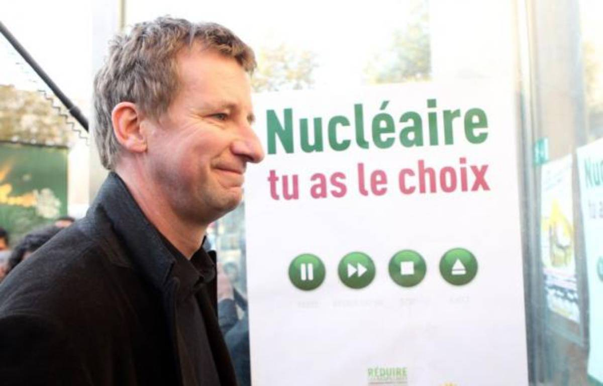 Yannick Jadot le 19 septembre 2011, lors du Conseil fédéral d'Europe Ecologie - Les Verts.  – CHESNOT/ SIPA