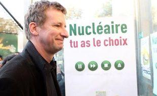 Yannick Jadot le 19 septembre 2011, lors du Conseil fédéral d'Europe Ecologie - Les Verts.