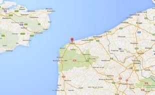 Google maps Calais