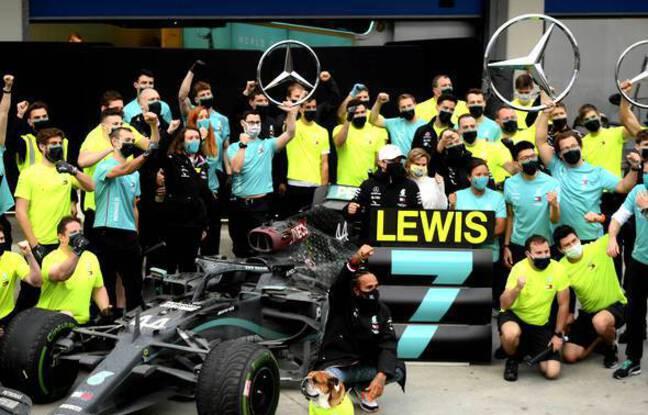 Formule 1 : Les sept titres de champion du monde des pilotes de Lewis Hamilton