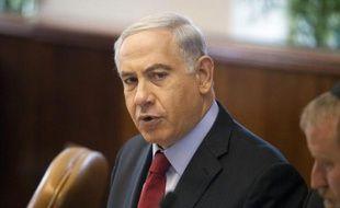 Le Premier ministre israelien Benjamain Netanyahu à Jerusalem le 29 juin 2014