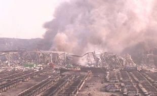 Chine: au moins 50 morts dans des explosions à Tianjin