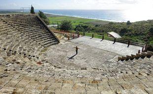 Avec la Méditerranée en toile de fond, le théâtre gréco-romain de Kourion s'inscrit parmi les sites les plus impressionnants de l'Antiquité.
