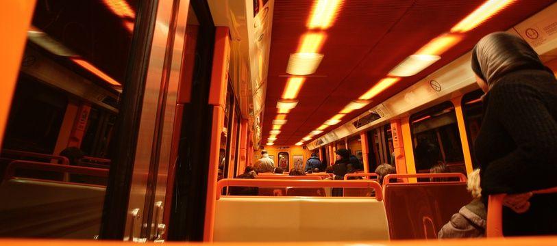 Illustration du métro marseillais