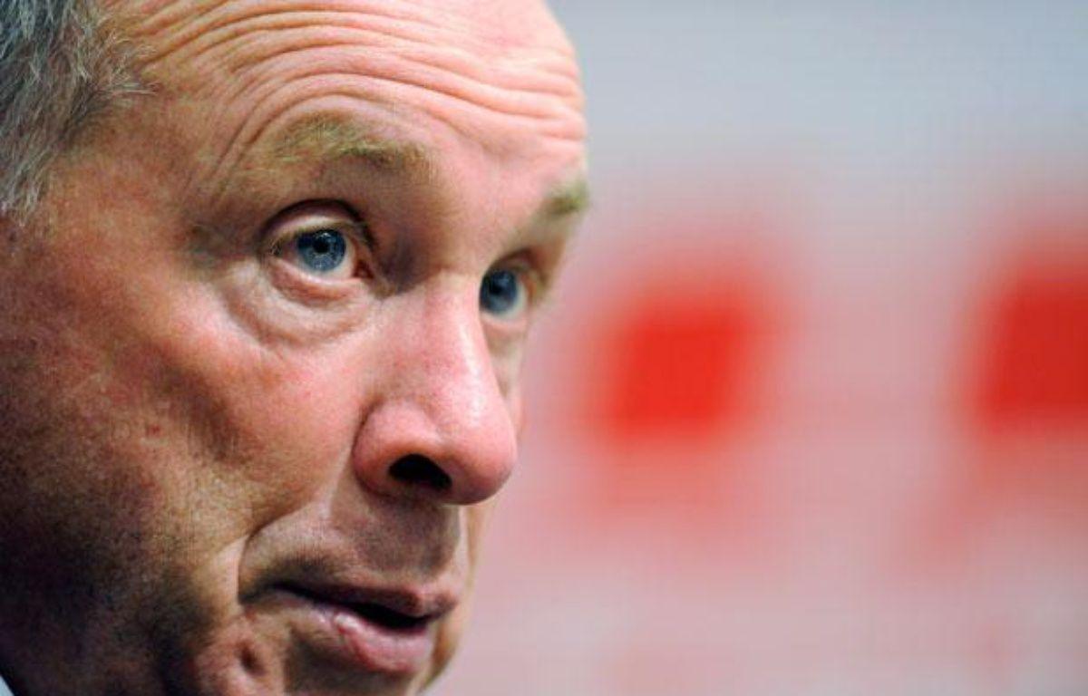 Jean Fernandez, a démissionné de son poste d'entraîneur de Montpellier en décembre 2013. – JEAN-CHRISTOPHE VERHAEGEN / AFP