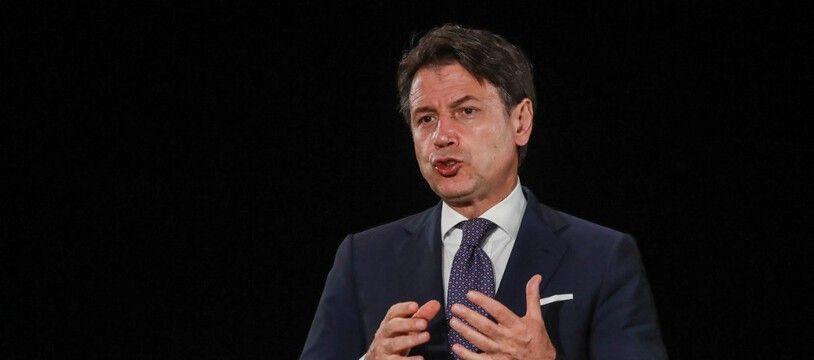 Giuseppe Conte, le président du Conseil italien.