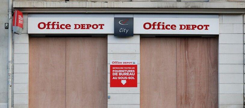 Un magasin Office Depot à Paris (image d'illustration).