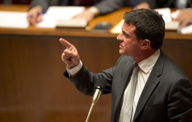 Manuel Valls à l'Assemblée nationale, le 11 septembre 2013.