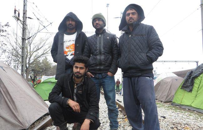 Jasam et ses amis ont participé à la marche lundi 14 mars partie d'Idomeni pour rejoindre la Macédoine.