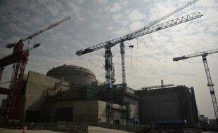 La centrale nucléaire de Taishan, dans la province du Guangdong, le 8 décembre 2013.