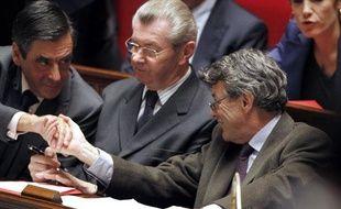 François Fillon et Jean-Louis Borloo, à l'Assemblée nationale, le 2 novembre 2010.