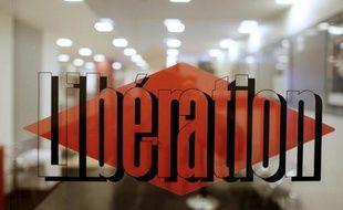 L'entrée du siège du journal Libération à Paris 20 février 2014