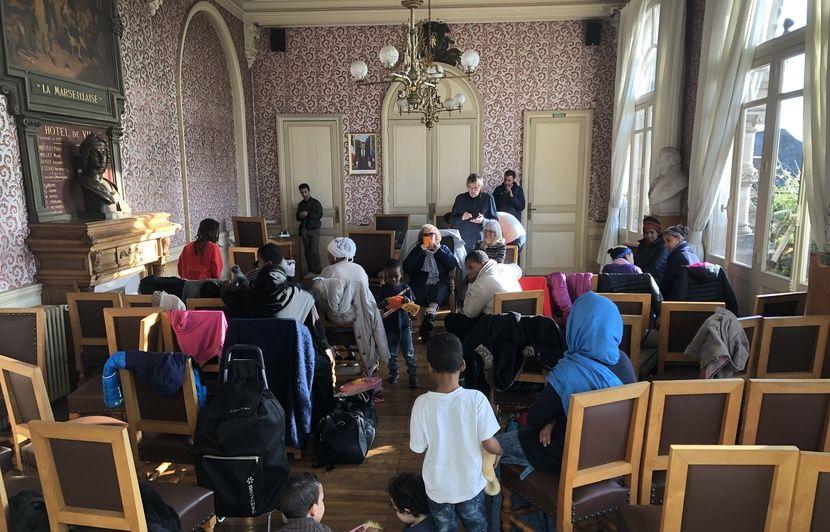 Nantes : Des femmes et des enfants migrants expulsés ce matin de la Maison du peuple
