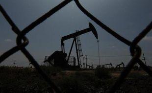 Un champs de pétrole à Los Angeles, le 12 mai 2009