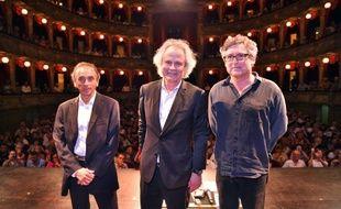 Eric Zemmour, Franz-Olivier Giesbert et Michel Onfray