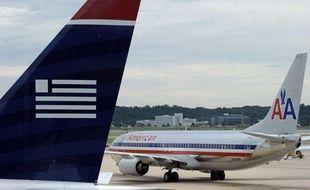 Des avions de la compagnie American Airlines, le 13 août 2013.