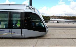 Une rame de tramway à Toulouse. Illustration