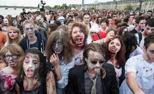 La Zombie Walk à Bordeaux, le 26 octobre 2013
